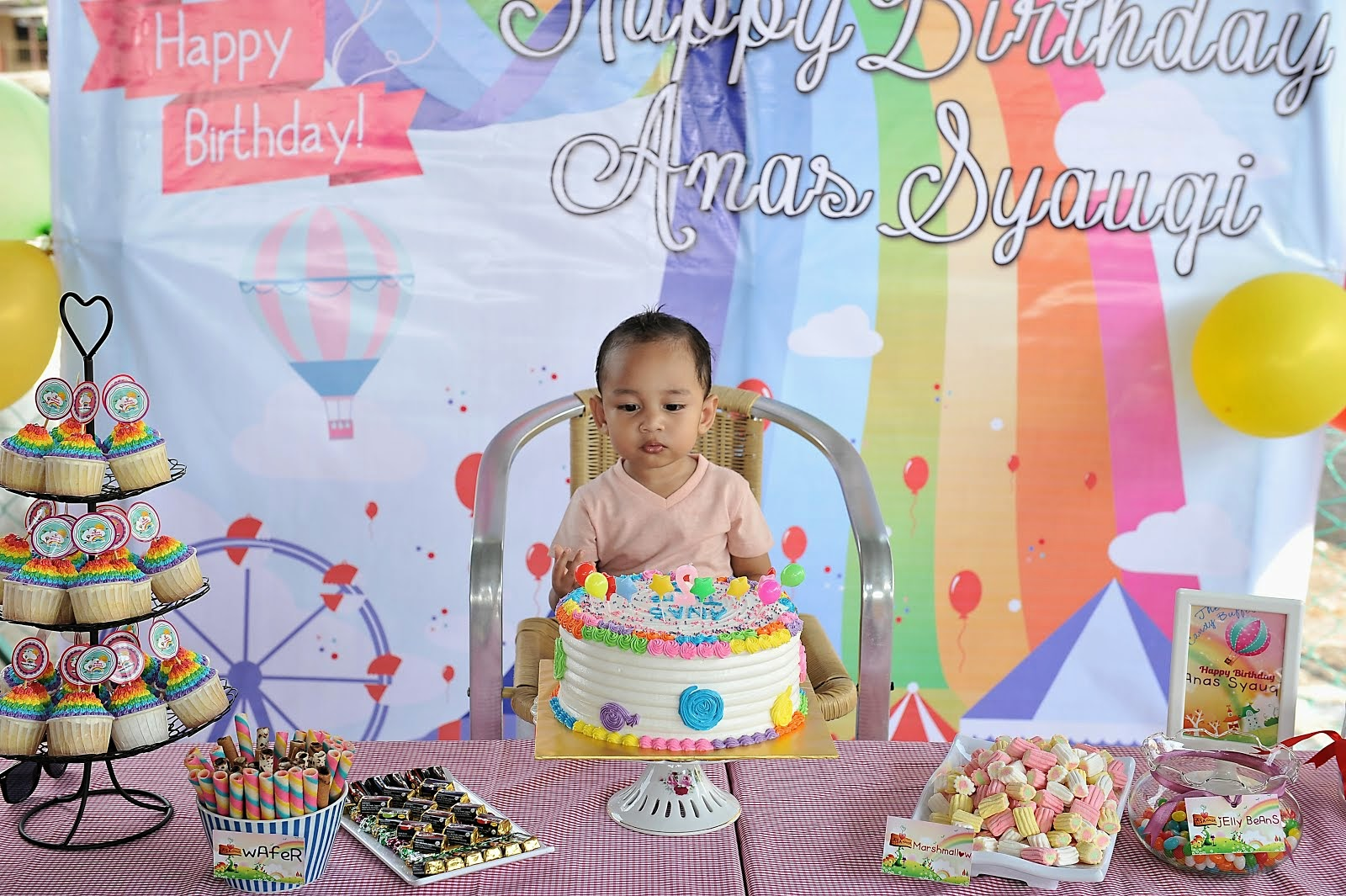 ♥ Anas Syauqi 2nd Birthday ♥
