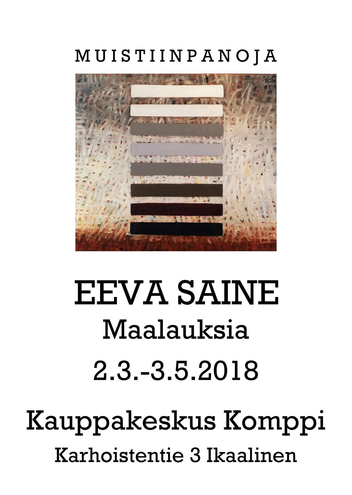 Eeva Saineen näyttely 2018