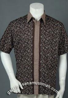 Model Baju Batik Modern Terbaru 2012 Contoh Busana Untuk Pria/Wanita