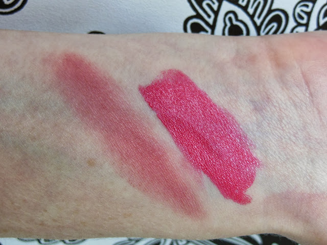 Lord & Berry La Vie En Rose collection swatches