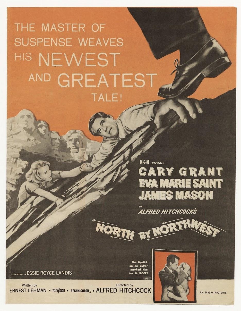 Eva Marie Saint, Cary Grant, Alfred Hitchcock,