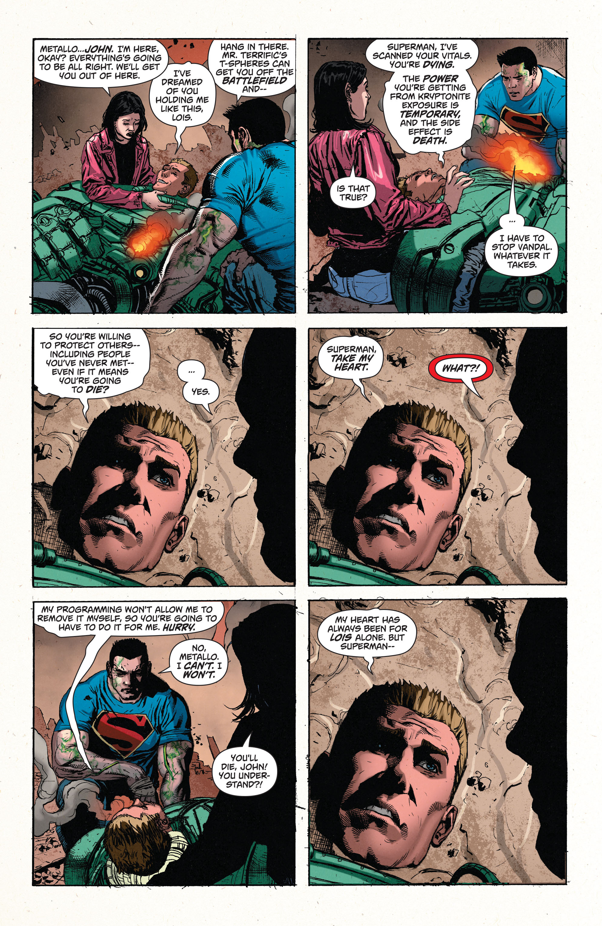 Read online Superman (2011) comic -  Issue #49 - 20
