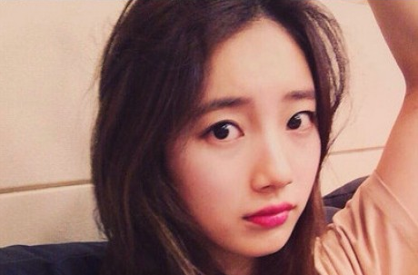 Foto Suzy Miss A Selfie Tanpa Make Up