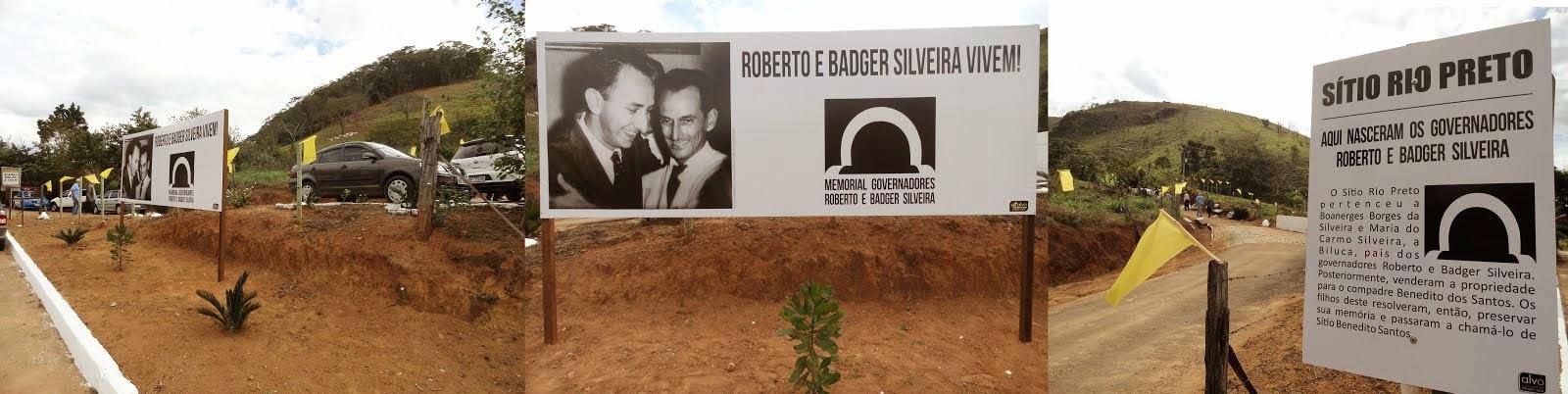 Memorial governadores Roberto e Badger Silveira