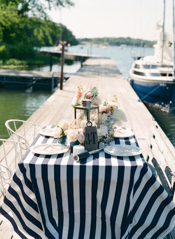 Nautical themed wedding victorian gardens