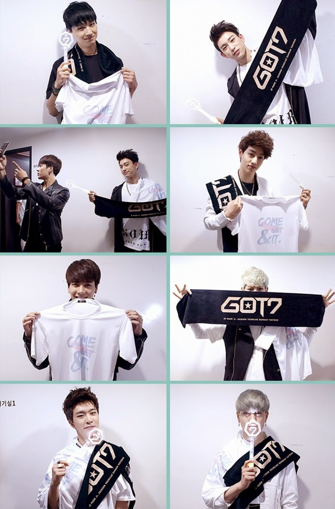 kedai kpop my   out of stock   merchandise  got7 - 1st official goods pure