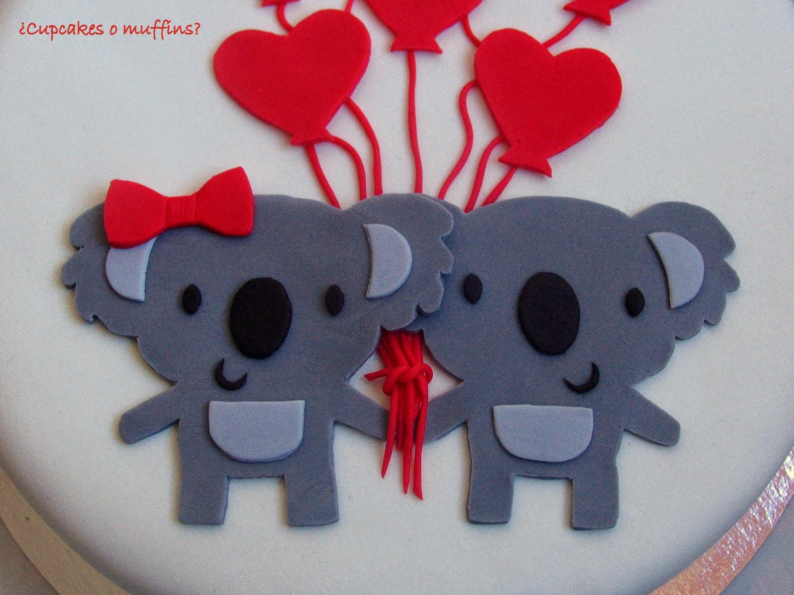 Cupcakes o muffins?: Koalas In Love