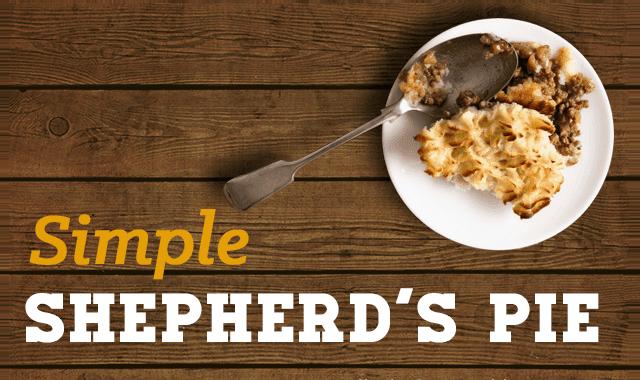 Simple Shepherd's Pie