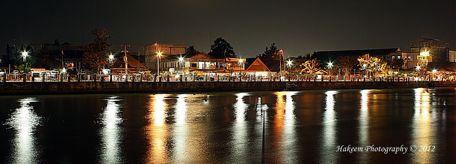 Night Scene of Siring Banjarmasin