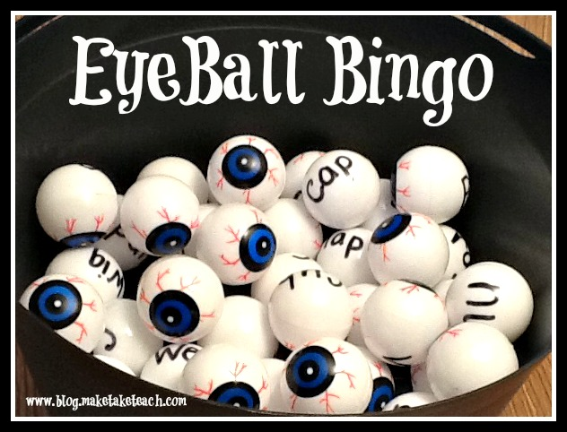 ive included the word list for you on the pdf if you cant find these balls you can also use regular ping pong balls - Halloween Ping Pong Balls