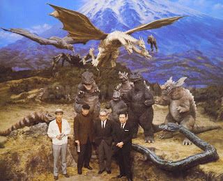Godzilla invasión extraterrestre - Rodaje