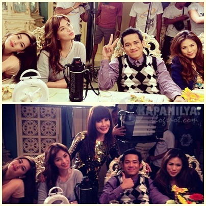 Janus Del Prado and Carmi Martin with Angel, Shaina and Toni
