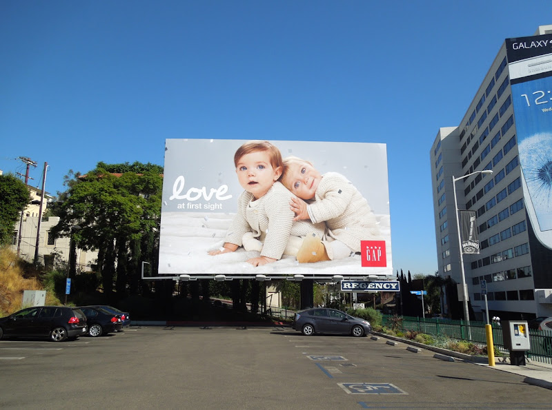 Baby Gap Love billboard