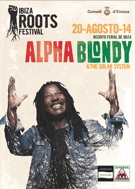 Ibiza Roots Festival 2014 - Alpha Blondy Headlining