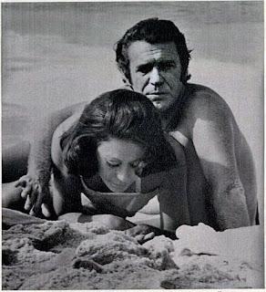 Juca de Oliveira e Dina Sfat em 1973