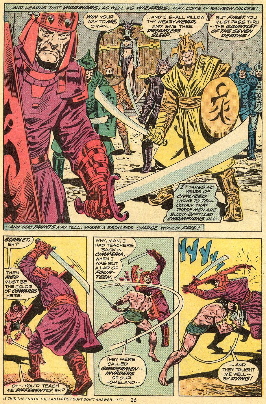Conan the Barbarian (1970) Issue #33 #45 - English 15