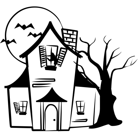 Haunted House Emoticon