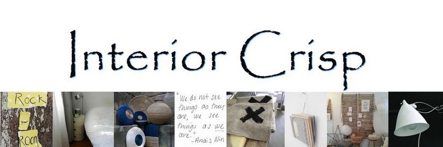 Ici vous trouvez le blog de INTERIOR CRISP jusqu'à OCT 2017. Le nouveau blog sur Interiorcrisp.com