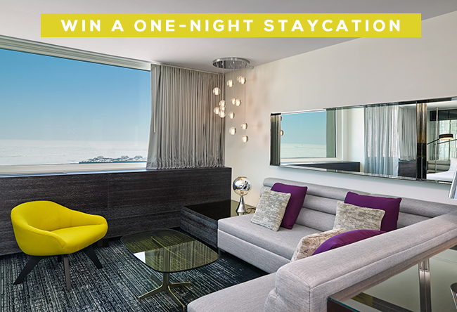 GIVEAWAY // Win A One-Night Staycation at the W (or Any Starwood Hotel!) from Bubby and Bean