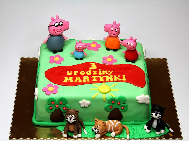 Birthday cakes in London - Peppa Pig