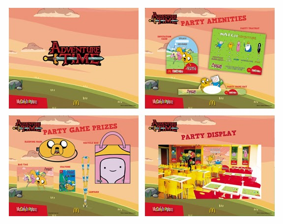 McDonalds Adventure time Party Theme