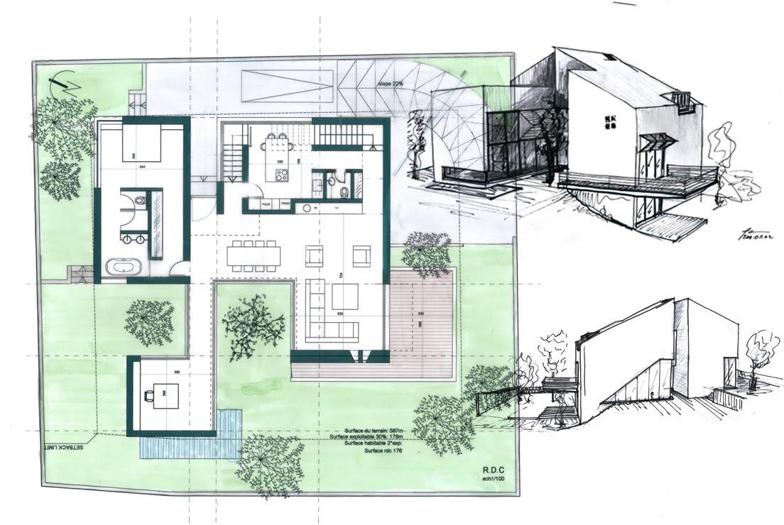 orient moderne maison a souk el ghareb liban. Black Bedroom Furniture Sets. Home Design Ideas