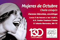 Charla coloquio: Mujeres de Octubre