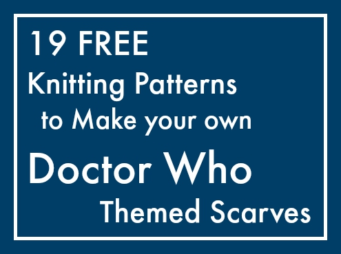 19 Patterns To Knit Your Own Doctor Who Scarf Maple Leaf Mommy