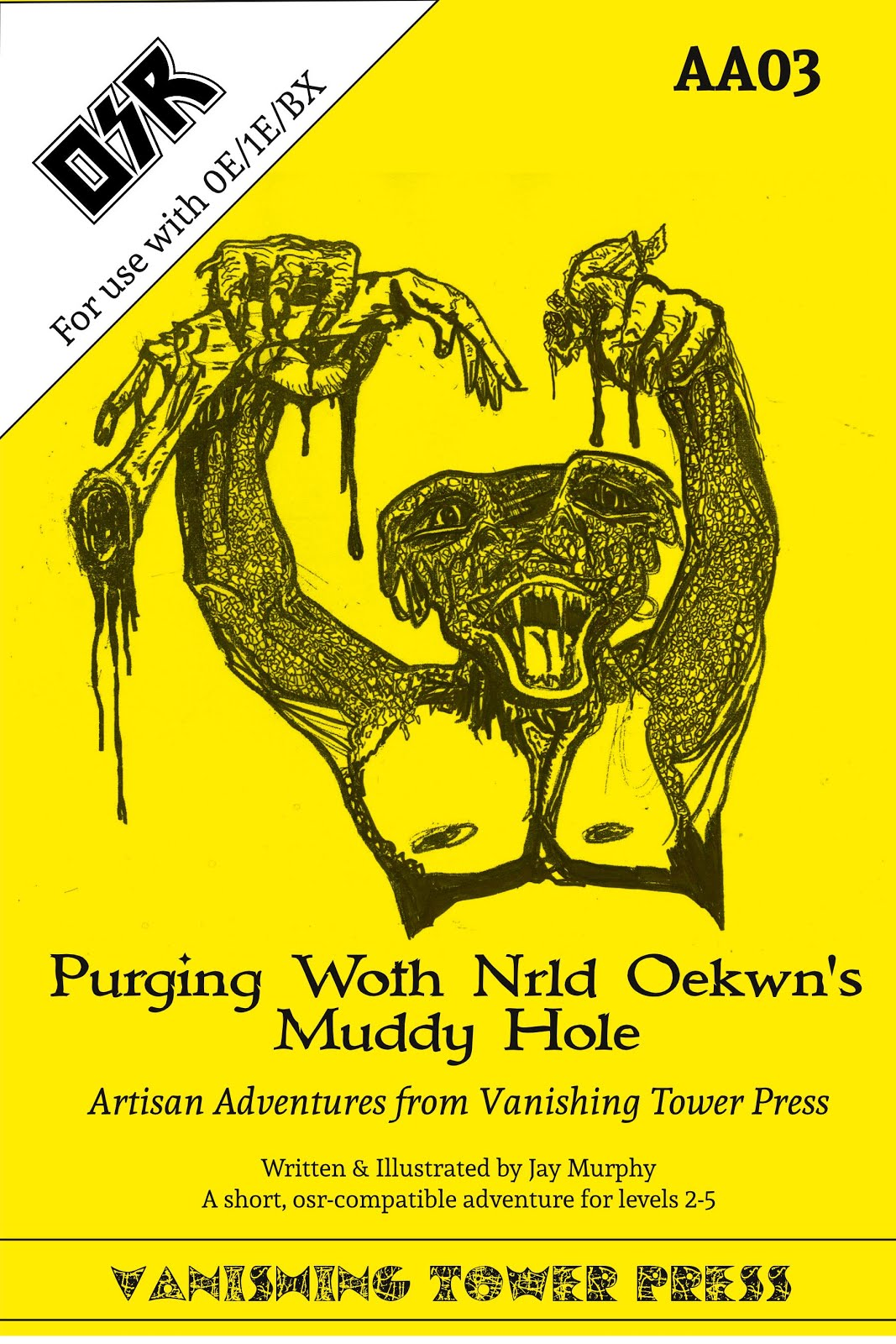 AA03 Purging Woth nrld Oekwyn's Muddy Hole now On Sale!