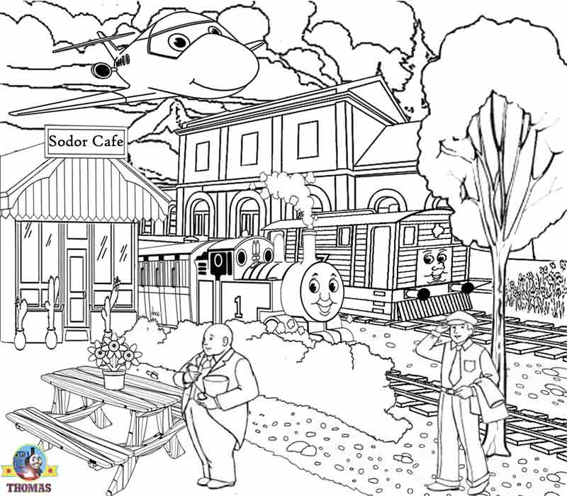 Thomas Coloring Pages For Teenagers Printable Worksheets Online Art Classes | Train Thomas The ...