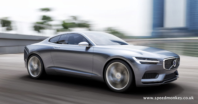 New Volvo P1800 - 2014 Volvo Concept Coupe
