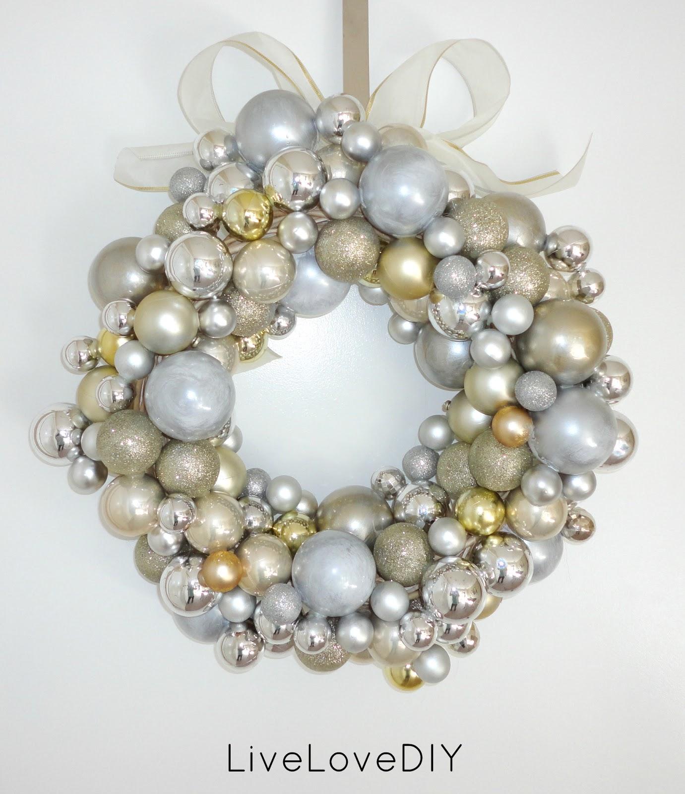 diy inspiration christmas ornament balls - How To Make My Own Christmas Decorations