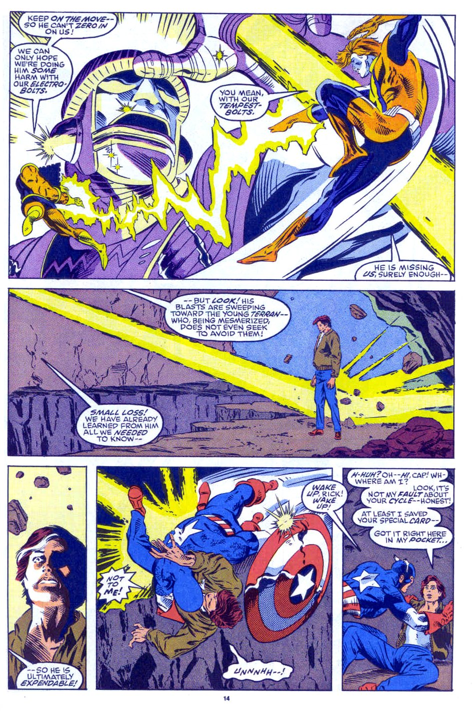 Captain America (1968) Issue #398b #332 - English 11