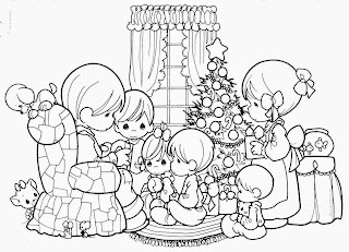 Christmas Images for Coloring, part 3