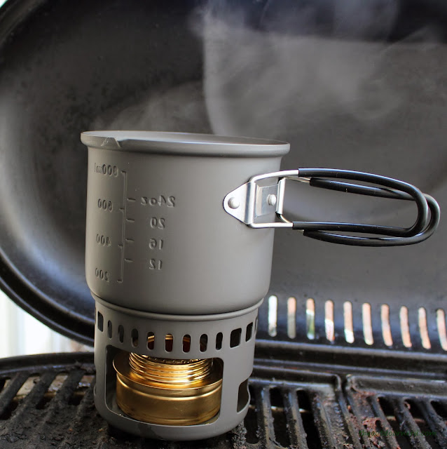 Esbit 5-Piece Trekking Cook Set - Test Done: Some Steam Coming Out