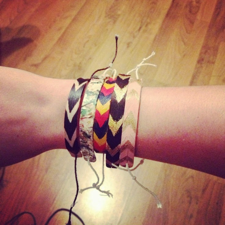 Popsicle Stick Bracelets | Do it yourself ideas and projects