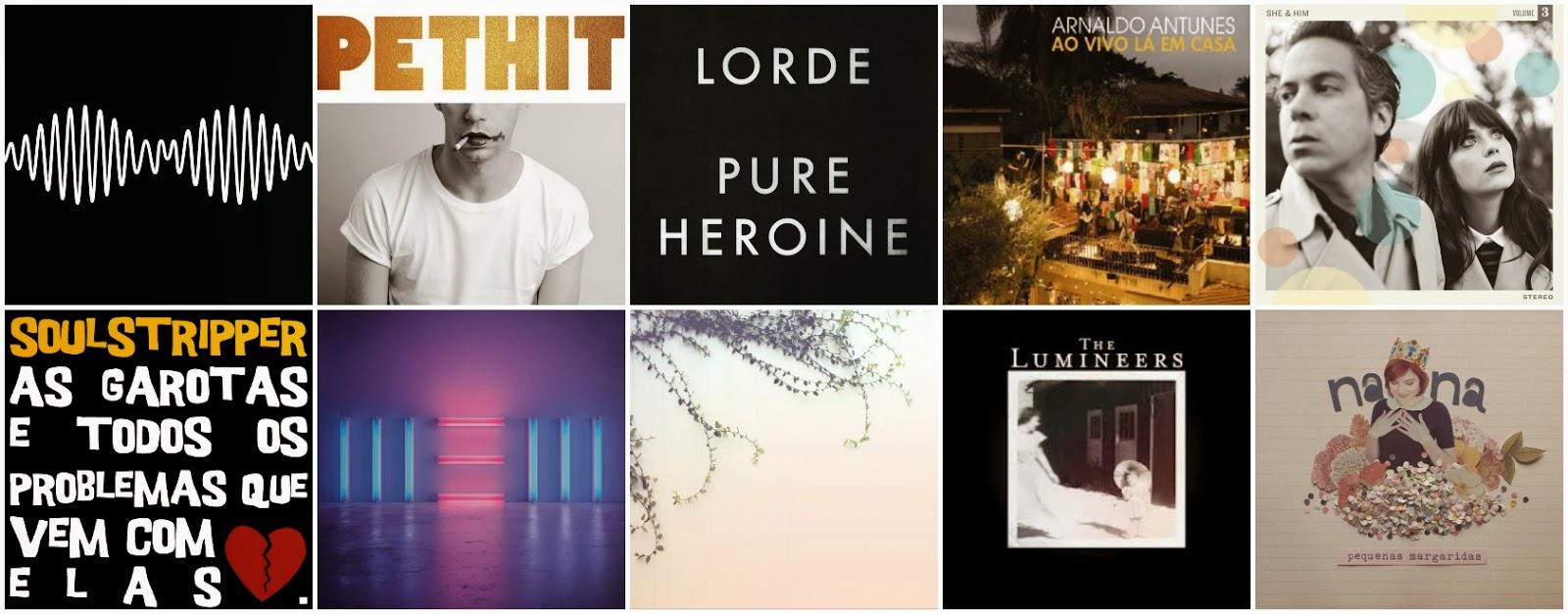 Playlist do P! - Os discos do nosso ano