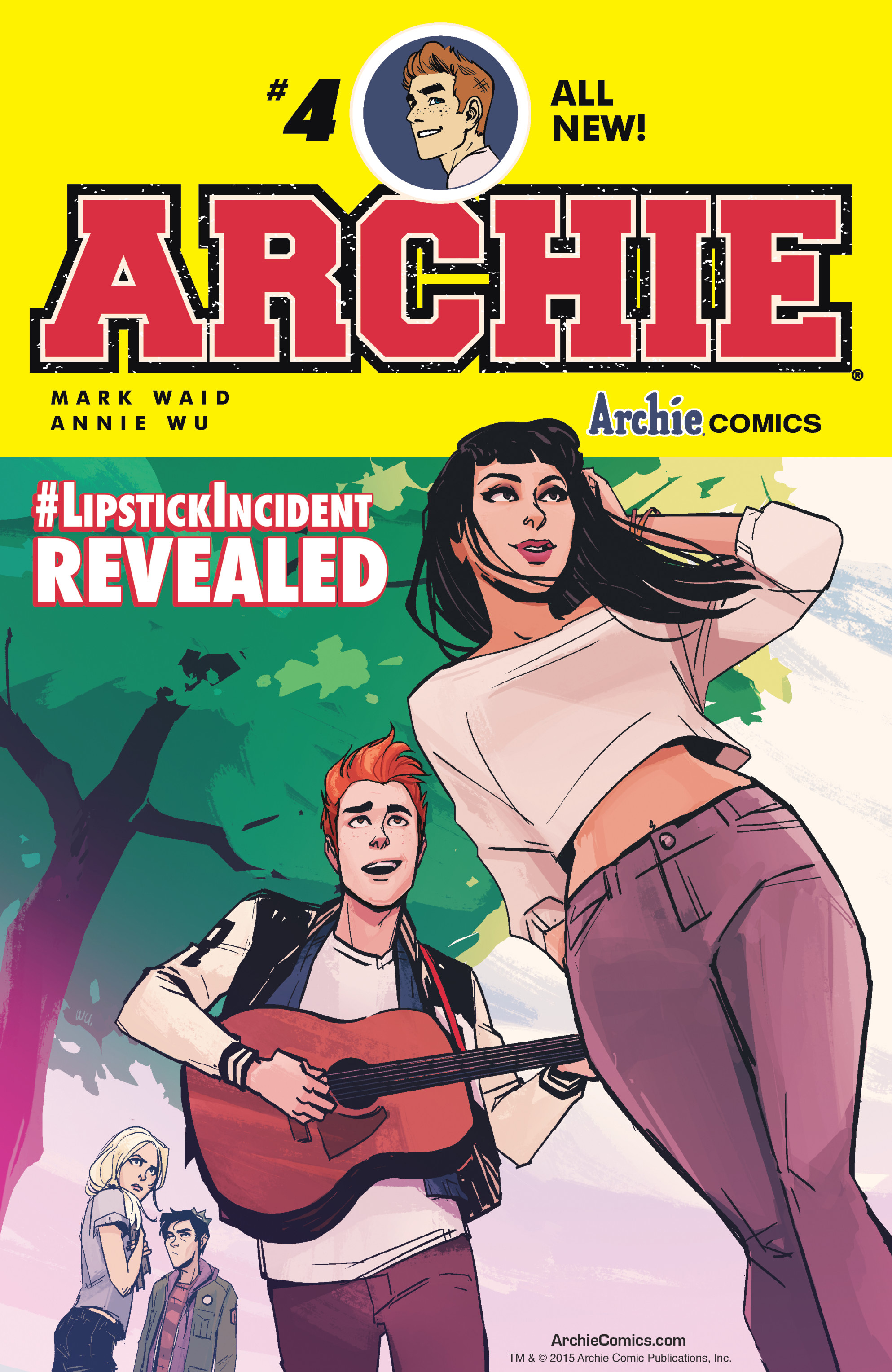 Archie (2015) 4 Page 1