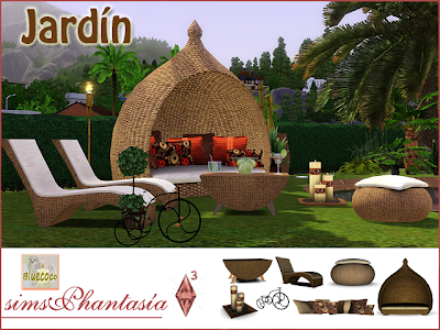 Empire Sims 3 Jard 237 N Outdoor Set By Bluecoco
