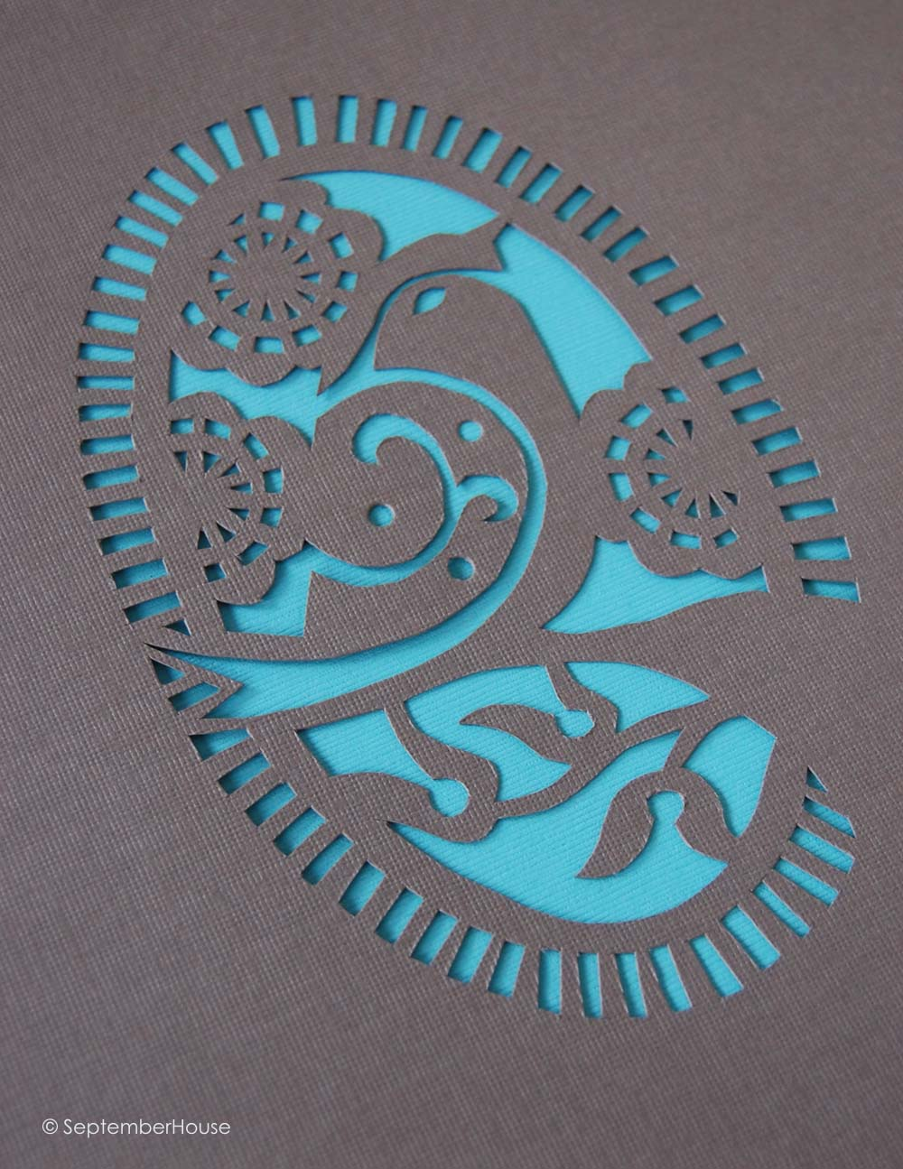 PaperCutting Design Bird