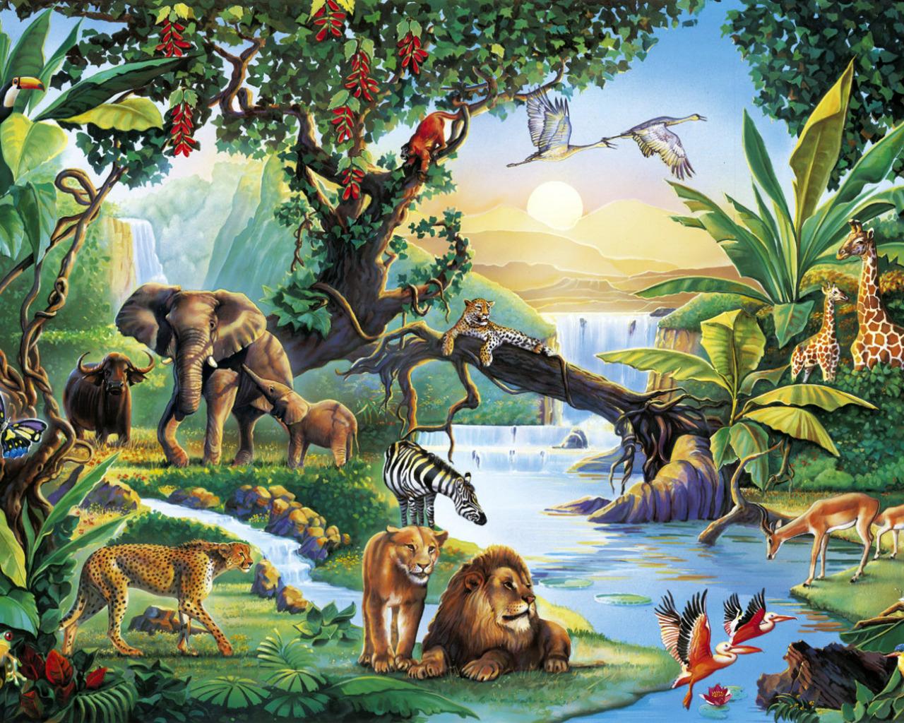 تصنيف الحيوانات حسب تنوع الغذاء الذي