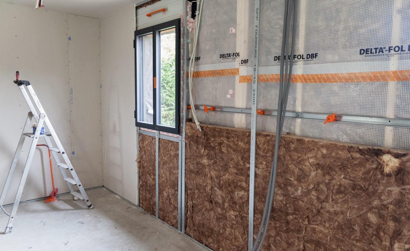 installation thermique ba13 isolant laine. Black Bedroom Furniture Sets. Home Design Ideas
