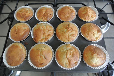 Mini Apple & Banana Muffins