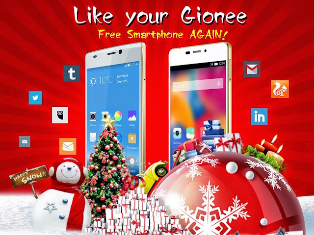 Like your Gionee contest. FREE Smartphones to be given away