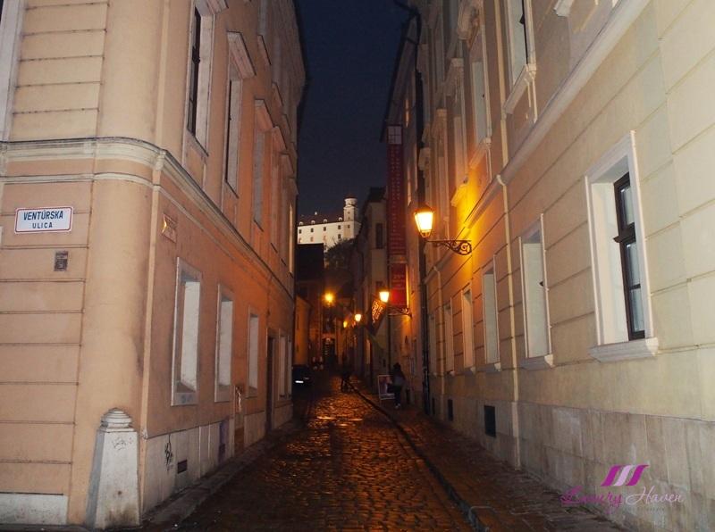 slovakia bratislava stare mesto old town cobbled-streets