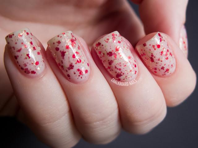 Chalkboard Nails: HARE Polish Holiday Hoopla