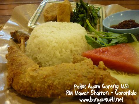Kuliner Gorontalo - Ayam Mawar Sharron