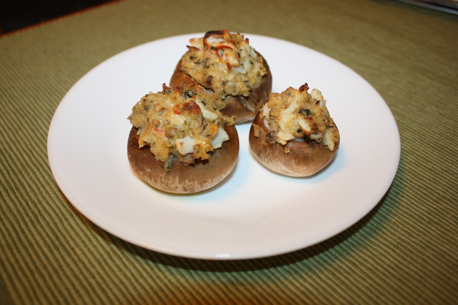 Olive The Ingredients: Crab-Stuffed Mushrooms