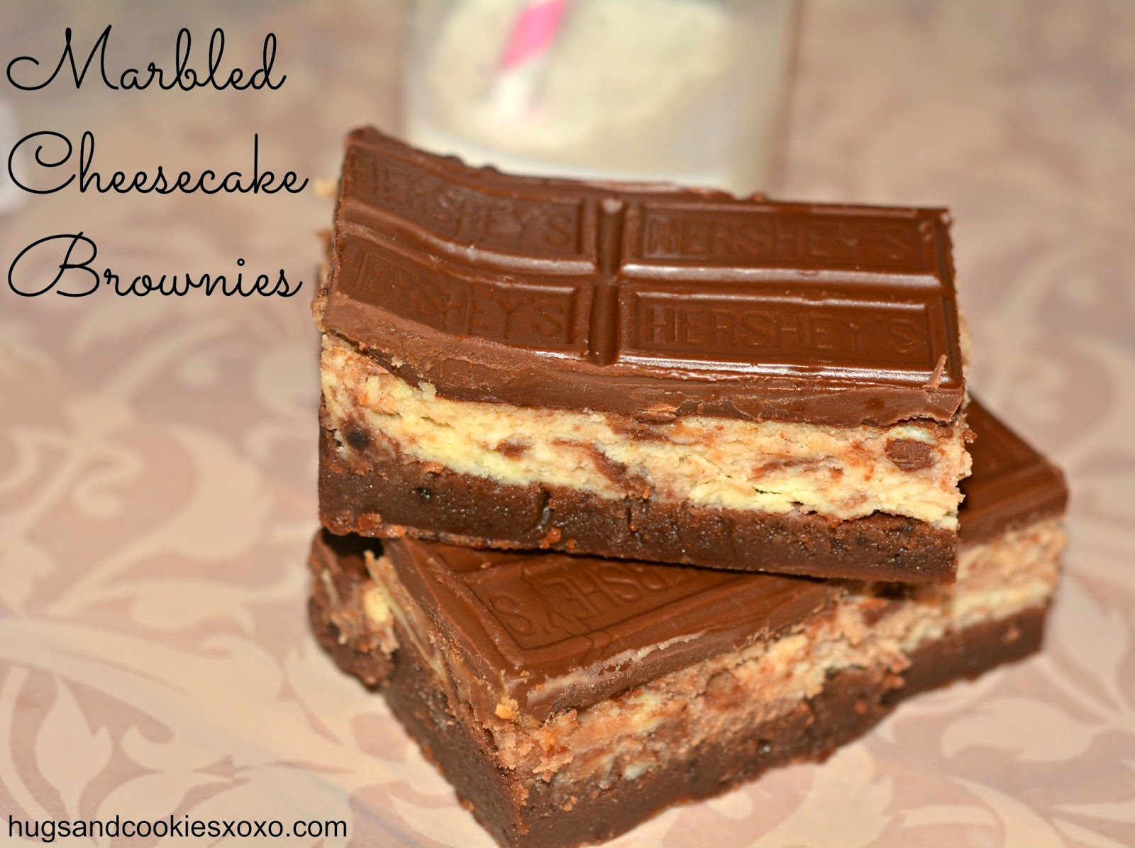 HERSHEY MARBLED CHEESECAKE BROWNIE BARS!!!