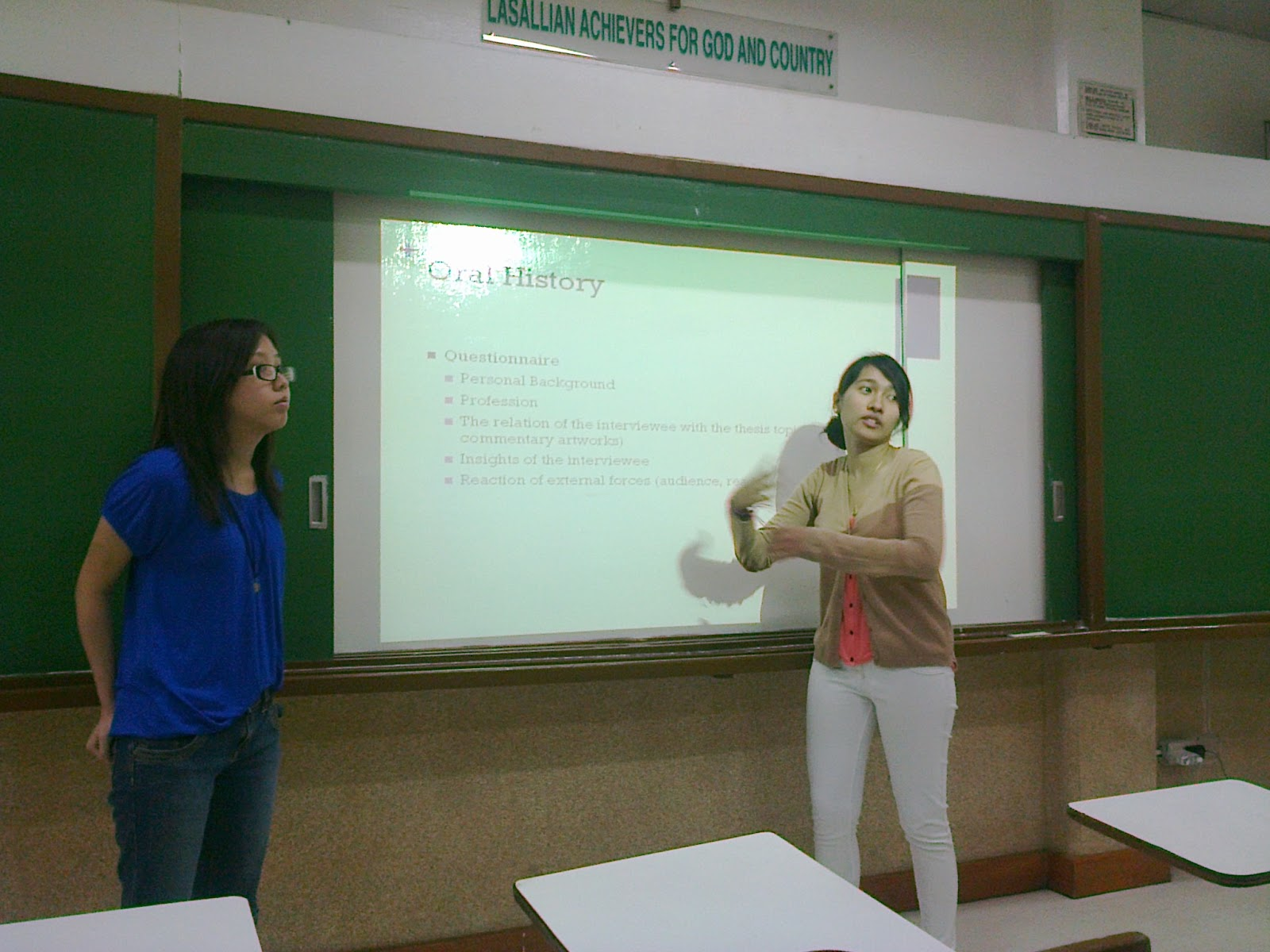 Thesis convention